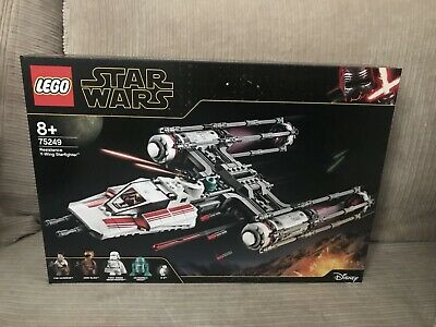 AU169.99 • Buy New LEGO 75249 Star Wars Resistance Y-wing Starfighter Hard To Find