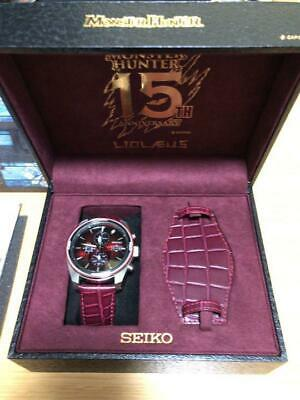 $ CDN765.55 • Buy Monster Hunter 15th SEIKO Collaboration Watch LIOLAEUS Limited Only 1000