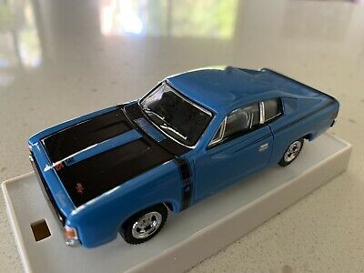 AU84.95 • Buy Trax. 1/43 Scale.  TR11E.  1971 Valiant VH Charger. Pacific Blue.