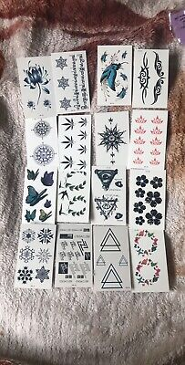 1pc Temporary Tattoo Sleeves Paper For Women Body Art Tattoo Stickers Fake • 1.99£