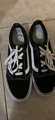 AU20 • Buy Men's Old Skool Vans Size US Men's 7.5