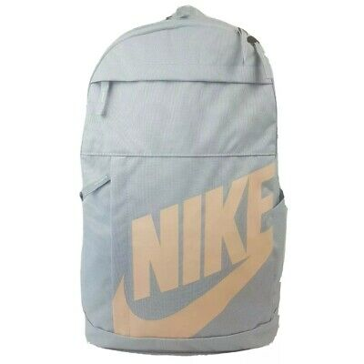 AU49.95 • Buy Nike Elemental SKY GREY Unisex School Gym Travel Backpack Bag AU Stock