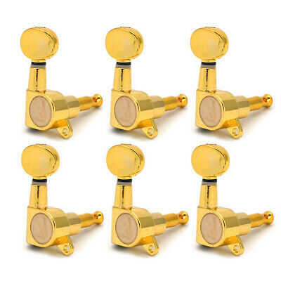 $ CDN18.15 • Buy Electric Guitar Tuning Pegs Tuners Machine Heads For Strat Tele 6R Right In Line