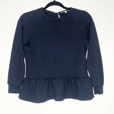 $ CDN39.64 • Buy Bleuh Ciel Anthropologie Peplum Bow Back Sweatshirt