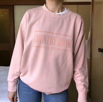 AU50 • Buy Like New - COUNTRY ROAD 'Heritage Sweat' - XXS - Dust Pink