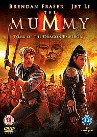 The Mummy - Tomb Of The Dragon Emperor (DVD, 2008) • 1.50£
