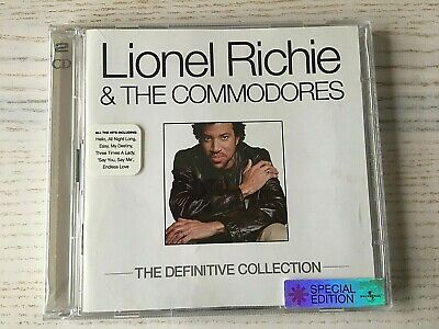 Lionel Richie & The The Commodores - The Definitive Collection - CD ALBUM • 2.50£