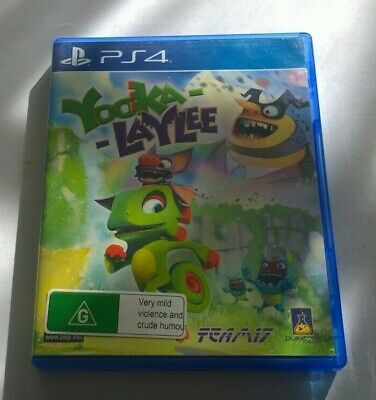 AU21 • Buy Sony Playstation 4 Ps4 Yooka Laylee Free Postage