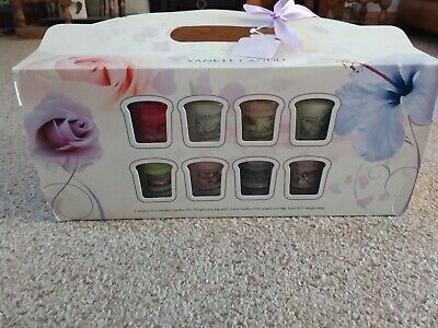 Yankee Candle Votive Gift Set X 16 Inc Pink Lady Slippers/Pink Blush VHTF • 21.99£