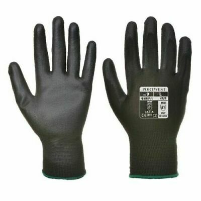 £2.37 • Buy 24 Pairs Work Black Nylon Safety Protection Cut Resistant Garden Builders Gloves