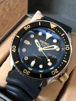 $ CDN848.63 • Buy SEIKO DIVER SKX007 Black Boy CUSTOM Analog Watch Used