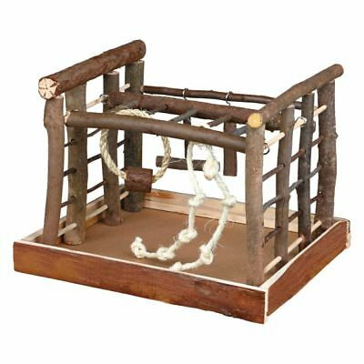 Trixie Wooden Small Parrot Playground Parakeet Cockatiel Play Stand Wood Cage  • 19.95£