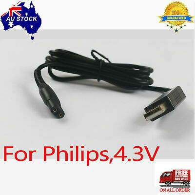 AU7.99 • Buy Charger For Philips Battery Shaver A00390 4.3V USB Power Charging Power Cable