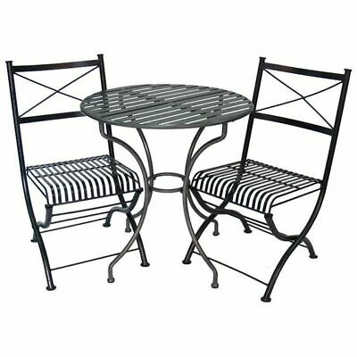 AU604 • Buy NEW Channel Enterprises Rye Iron 3-Piece Outdoor Setting