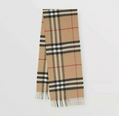 Burberry Classic Beige Check 100% Cashmere ScarfUnisex  • 140£