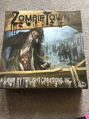 Zombie Town Board Game 2007 Complete • 59.99£