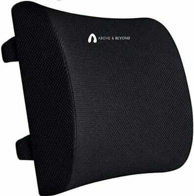 AU53.99 • Buy Support Pillow For Office Chair Pure Memory Foam Back Support Cushion PainRelief