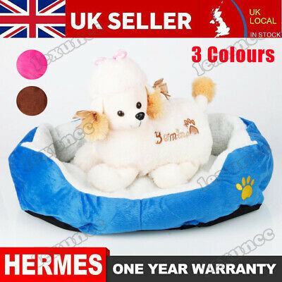 Large Dog Bed Pet Cushion Beds House Soft Warm Kennel Blanket Nest Washable UK • 16.59£