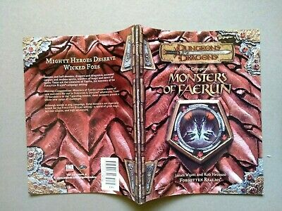 AU31.20 • Buy Monsters Of Faerun Dungeons & Dragons D&D 3.5 In English