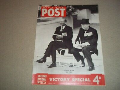 Picture Post Magazine 22 June 1946 W. Norman Pett  Jane • 6.50£
