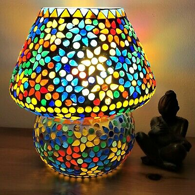 Hand Made, Beautiful, Mosaic Glass Table Lamps • 29.99£