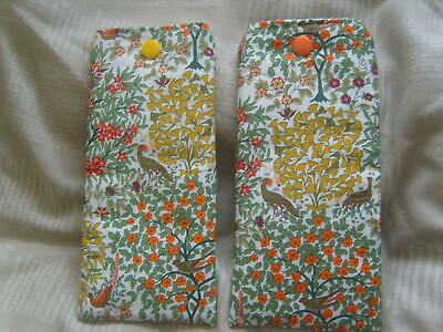 Handmade Liberty Orchard Garden ~ Glasses/ Spectacle  Case ~ Padded & Zip/popper • 3.60£