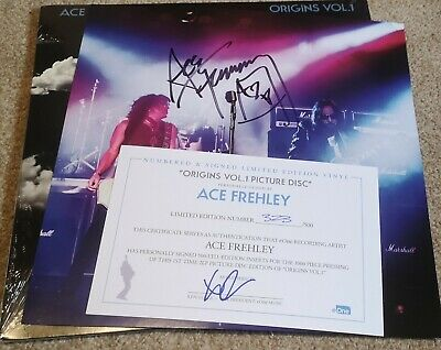 Ace Frehley Origins 1 Signed Picture Disc • 249£