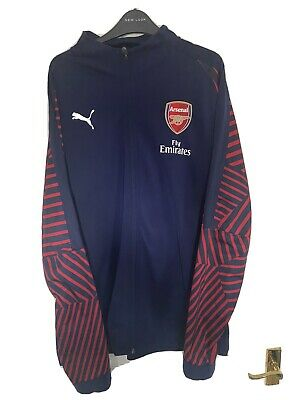 AUTHENTIC ARSENAL Stadium Jacket By PUMA!  Mens XL • 17£
