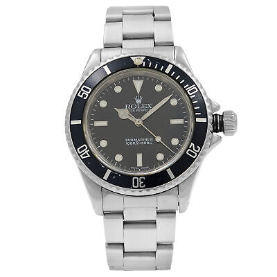 $ CDN10122.73 • Buy Rolex Submariner Black Dial No Date Stainless Steel Automatic Mens Watch 14060M