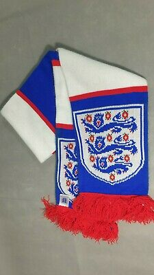 GENUINE England TEAM Football Official Scarf Country Club Soccer Supporters  • 4.99£