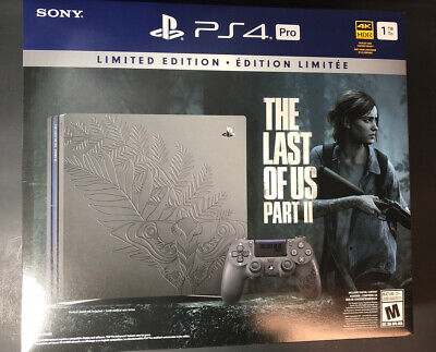 AU1216.44 • Buy Sony PS4 Pro 1TB The Last Of Us Part II Limited Edition Bundle NEW