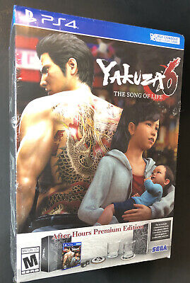 AU215.37 • Buy Yakuza 6 The Song Of Life [ After Hours Premium Edition ] (PS4) NEW