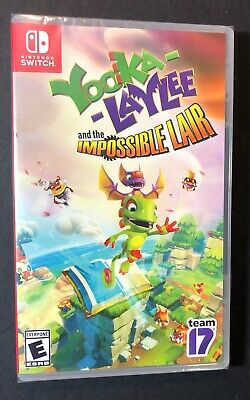 AU59.34 • Buy Yooka-Laylee And The Impossible Lair (Nintendo Switch) NEW