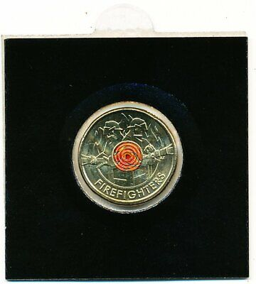 AU6.75 • Buy Australia 2020 Firefighter $2 Dollar Coin Unc - Straight From Bag To Coin Holder