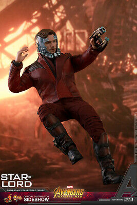 $ CDN324.18 • Buy Hot Toys Star-Lord Marvel Avengers Infinity War 1/6th Scale Figure MMS539