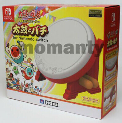 $ CDN119.08 • Buy Nintendo Switch HORI TAIKO NO TATSUJIN Drum & BACHI Set For Switch
