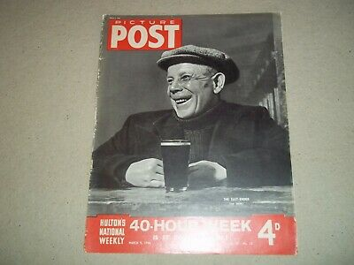 Picture Post Magazine 9 March 1946 East End  Agatha Christie • 6.50£