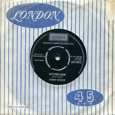 CHUBBY CHECKER - Lets Twist Again/The Twist (London) Near Mint Orig 1975 Issue  • 3.50£