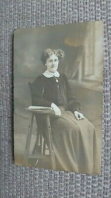 £3 • Buy Anonymous Portrait By Heawood Of Melton Mowbray (sitter From Melton) Postcard