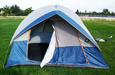 AU188.19 • Buy Ozark Trail 4 Person 2 Room Dome Tent 8x10 Camping Outdoor Family Hiking
