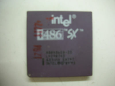 AU34.15 • Buy CPU Intel I486 SX797 Socket 168