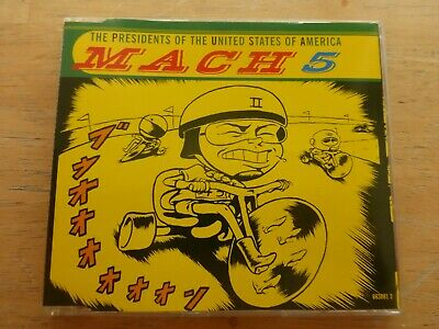 The Presidents Of The United States Of America ‎– Mach 5 - CD Single  • 2.50£