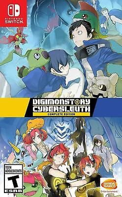 AU53 • Buy Digimon Story: Cyber Sleuth Complete Edition Nintendo Switch Brand New Sealed