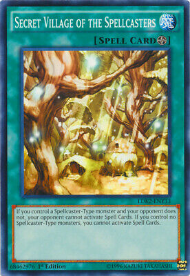 AU9.95 • Buy Secret Village Of The Spellcasters Common Legendary Decks II Yugioh Card
