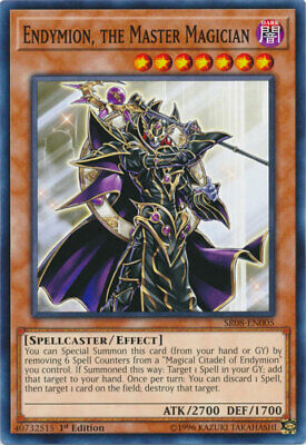 AU4.50 • Buy Endymion, The Master Magician Common Order Of The Spellcasters Yugioh Card