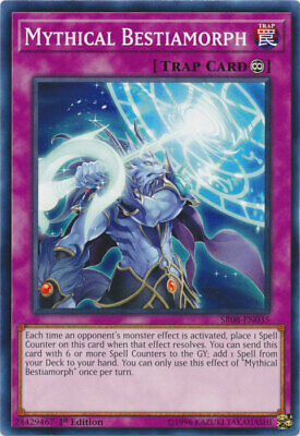 AU4.50 • Buy Mythical Bestiamorph Common Order Of The Spellcasters Yugioh Card