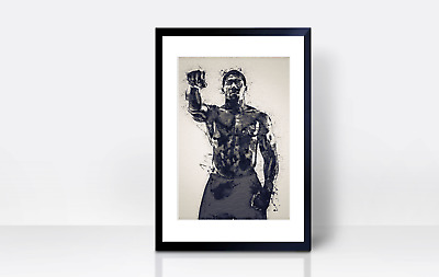Anthony Joshua Wall Print | A4 | Wall Art | Gift | Home Decor | Kitchen | Boxing • 3.99£