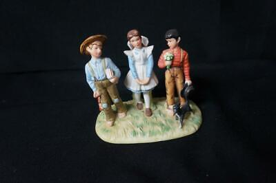 $ CDN24.64 • Buy Vintage Norman Rockwell Young Man's Fancy Gorham Porcelain Figurine