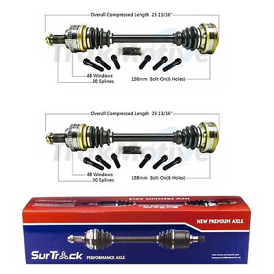 $276.04 • Buy SurTrack Pair Set Of 2 Rear CV Axle Shafts For BMW E36 M3 1995-1999