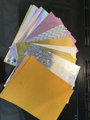 Assorted A4 COLOURED CARD 220gsm To 400gsm Glossy, Metallic 2.5,5 & 7.5kg Packs • 4.99£